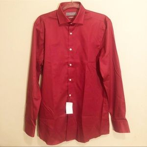 NWT Perry Ellis Premium Men's Dress Shirt